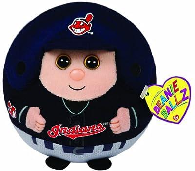 Ty Beanie Ballz MLB Cleveland Indians Plush