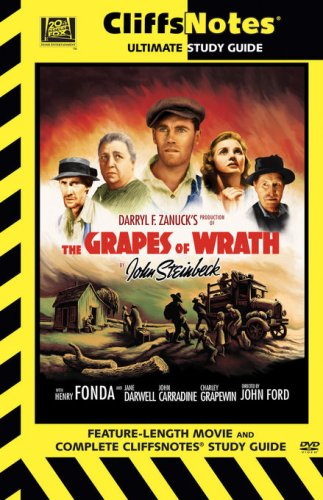 Cover art for  The Grapes of Wrath (Cliff Notes)