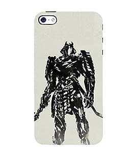 EPICCASE Wolverino ninja Mobile Back Case Cover For Apple iPhone 5s (Designer Case)