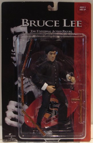 Picture of Sideshow Bruce Lee The Universal Action Figure Black Outfit (B00164VJWW) (Sideshow Action Figures)