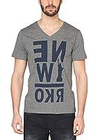 s.Oliver Herren T-Shirt 13.502.32.2063, mit Print