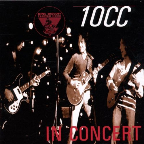 10cc In Concert cd cover