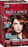 Coloration creme permanente BRILLANCE, milan fw rouge cuivre n°843