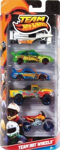 Imagen 1 de Mattel W2638 Hot Wheels - Pack de 5 vehículos
