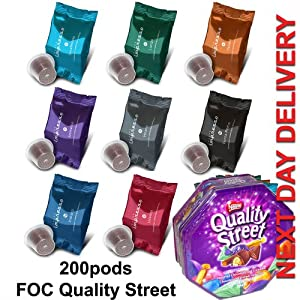 Caffe Impresso Forza Roma 200's (20 boxes) - F.O.C QUALITY STREET 1.25KG TIN - NEXT DAY DELIVERY