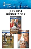 img - for Harlequin Special Edition July 2014 - Bundle 2 of 2: Dating for Two\Ready, Set, I Do!\A Doctor for Keeps book / textbook / text book
