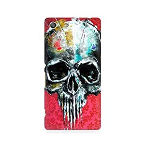 Mobicture Skull Art Premium Printed Case For Sony Xperia M5