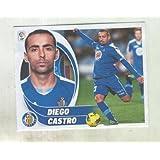 Cromos Liga BBVA 2012-2013: Getafe C.F. numero 14: Diego Castro