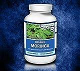 Pure Naturals Organic Moringa, 500 mg, 60 Veg Capsules