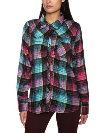 O'Neill Peridot Long Sleeve Shirt Women's Sweatshirt Blue AOP X-Large
