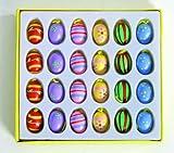 Ideen für Ostergeschenke Alles rund um's Osterei 2014 - Ostereier 24er Set aus Holz handbemalt (Ostern)