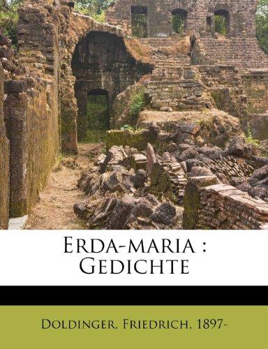 Erda-Maria: Gedichte