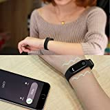 Amyove M2 Smart Bracelet Heart Rate Monitor Bluetooth Smartband Health Fitness Tracker Smart Band Wristband for Android iOS