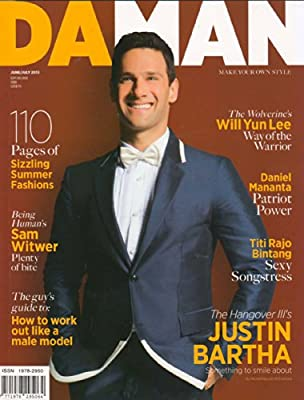 Da Man June/July 2013 Justin Bartha
