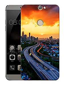 """Highway To CityPrinted Designer Mobile Back Cover For """"Coolpad Max"""" (3D, Matte, Premium Quality Snap On Case)"""