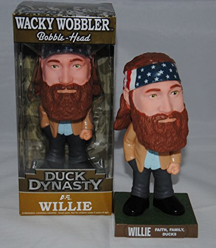 Duck Dynasty Willie Bobble-Head Faith, Family, Ducks - 1
