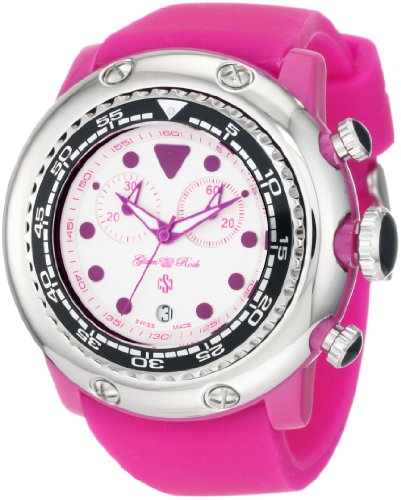 Glam Rock GR20130 - Reloj de pulsera mujer, caucho