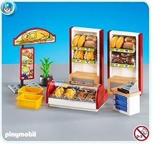 Amazon Com Playmobil 7456 Bakery Interior Toys Amp Games