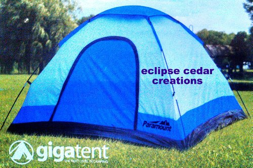 20621761302 Paramount GigaTent 5 x 5 Cooper1 1-2 Person Tent ~ 2 person tents