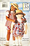 Butterick 4425 ~ My Little Sister Doll Clothes Pattern 35
