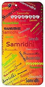 Samridhi (Popular Girl Name) Name & Sign Printed All over customize & Personalized!! Protective back cover for your Smart Phone : Samsung Galaxy A-3