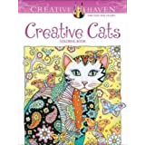 Libro para Colorear Creative Haven Creative Cats
