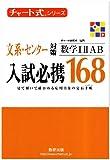 チャート式シリーズ 入試必携168 文系・センター対策 数学1A2B (チャート式・シリーズ)