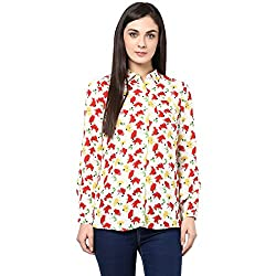 Honey by Pantaloons Womens Other Tunic (205000005545075_Off White_S)