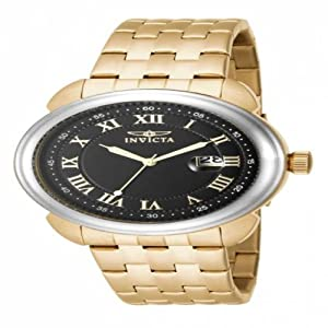 Invicta Specialty Men's 16184 Stainless Steel Gold Plated Watch