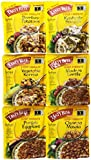 Tasty Bite, Indian Entrees Variety Pack, 6 Count