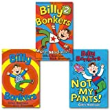 Giles Andreae Billy Bonkers Collection 3 Books Set, (Billy Bonkser, Billy Bonkers 2 and Not my Pants)
