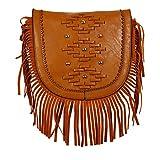 Colors Inc. Women's Party Sling Bag (Tan) - VKBLSLNG-10009