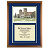 University of California Los Angeles Diploma Frame with UCLA Art Print ~ Old School Diploma...