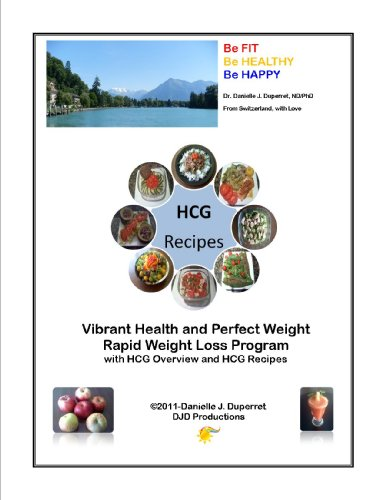 HCG Recipes and Overview