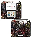 Avengers Captain America Thor Hawkeye Black Widow Ultron Video Game Vinyl Decal Skin Sticker Cover for Nintendo 2DS System Console