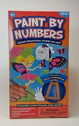 Child's Paint By Number Kit