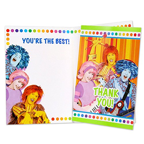 Doodlebops Thank You Notes w/ Envelopes (8ct)
