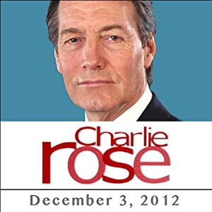 Charlie Rose: Eric Schmitt & Ehud Olmett, December 03, 2012 Radio/TV Program