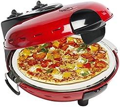 Bestron DLD9070 Pizzasteinofen mit Fenster