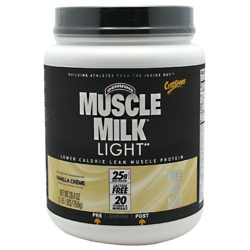 CytoSport Muscle Milk Light 750 g Vanilla Whey Protein Shake Powder by CytoSport