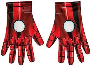 MARVEL ~ Iron Man Gloves - Adult Accessory