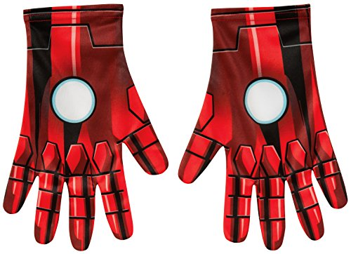 Rubie's Costume Men's Marvel Universe Adult Ironman Gloves
