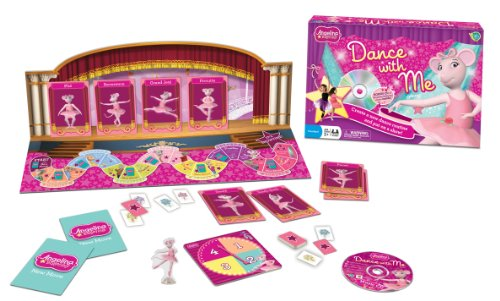 Angelina Ballerina Dance With Me Game - 1