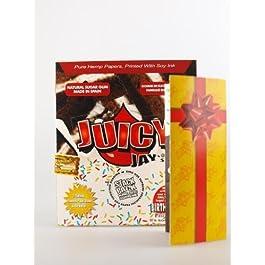JUICY JAY de liar King Size BIRTHDAY CAKE sazonado 5 pcs (5 x 40)