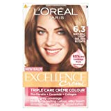 L'Oréal Paris Excellence Creme Triple Care Crème Colour 6.3 Natural Light Golden Brown