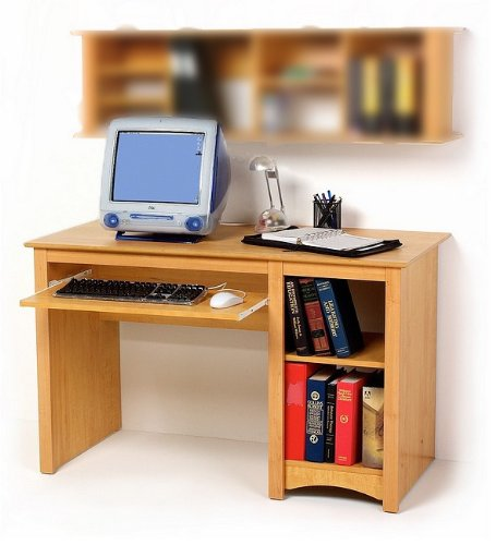 Buy Low Price Comfortable Sonoma Maple Finish Home Office Computer Desk (B000FT3VMU)
