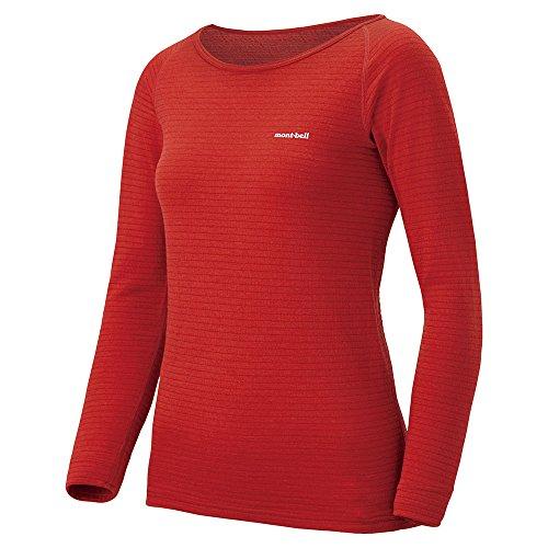 モンベル スーパーメリノウール EXP.ラウンドネックシャツ Women