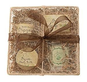 Jensan 6-piece Natural Organic Bath and Body Aromatherapy Gift Basket by JenSan Candles