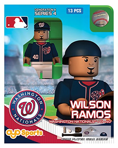 MLB Washington Nationals Wilson Ramos OYO G4S4 Minifigure