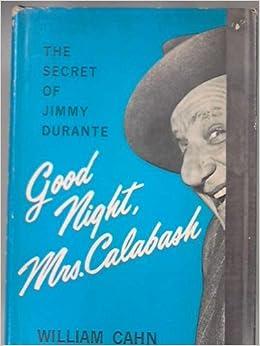 Good night mrs mcgillicutty wherever you are